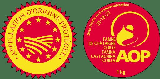 label farine de châtaigne