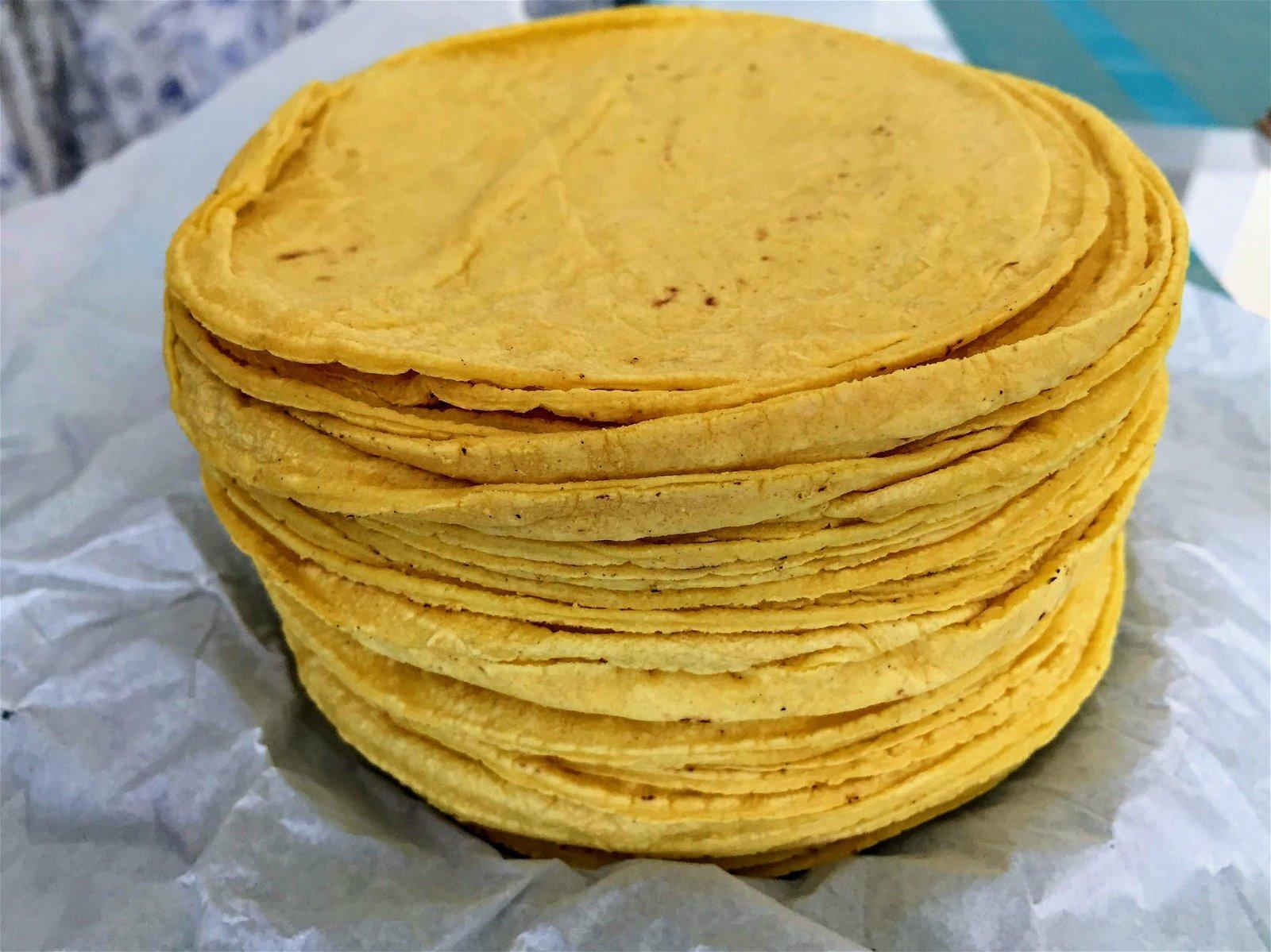 tortilla farine de maïs