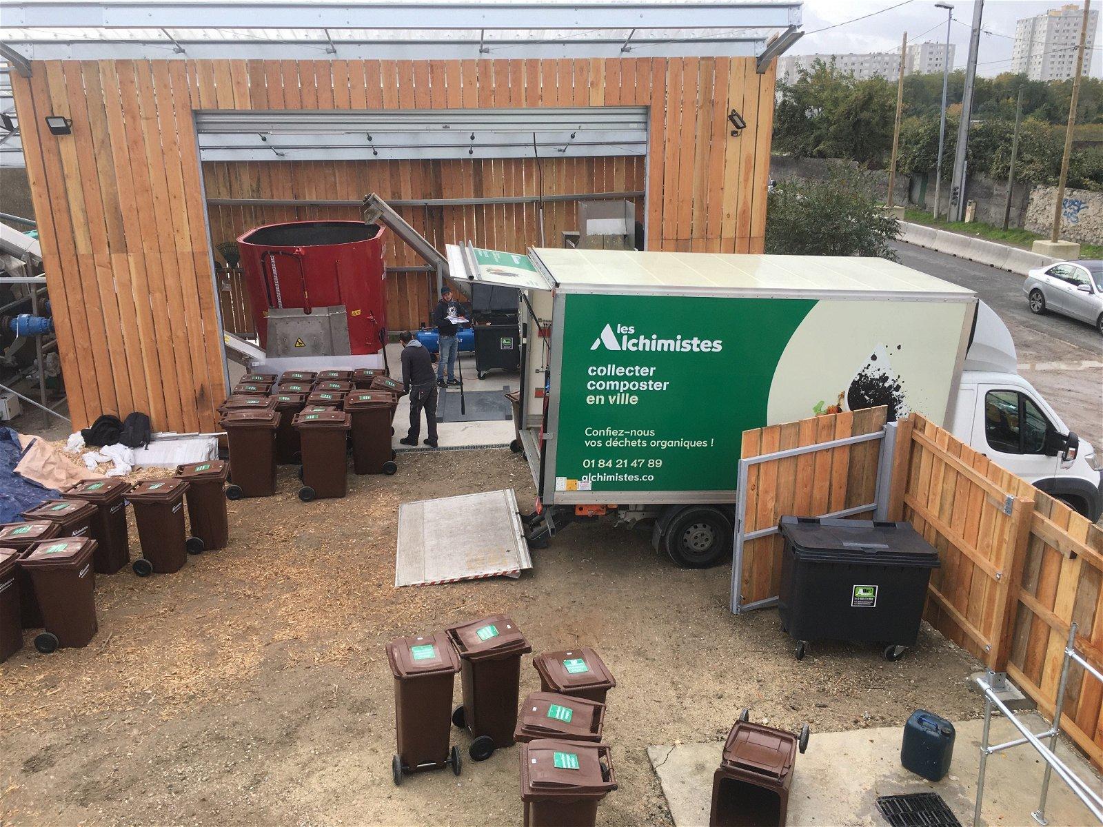site de compostage