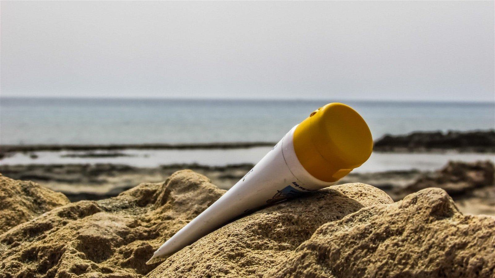 crème solaire respectueuse de l'environnement