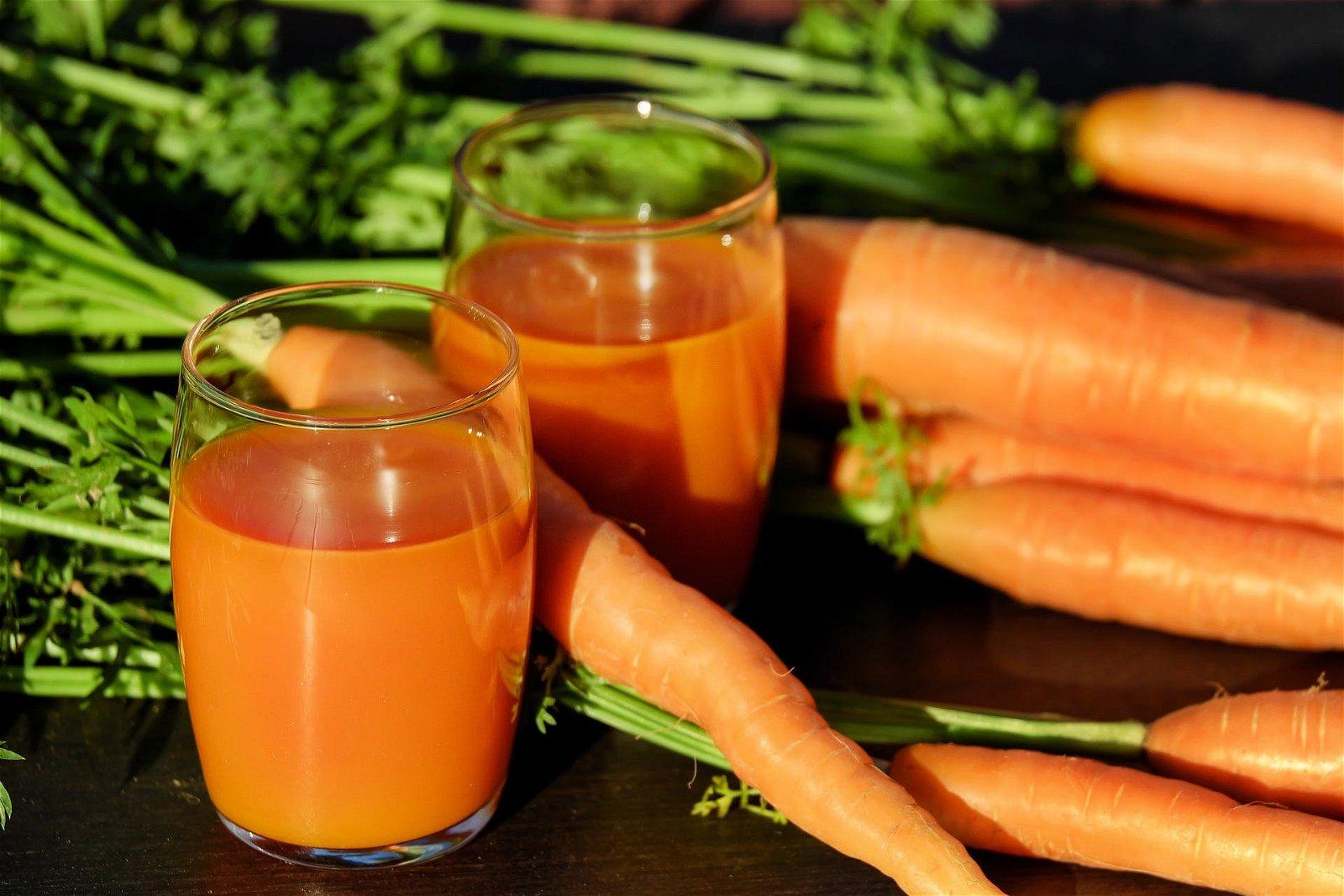 jus de carotte bio