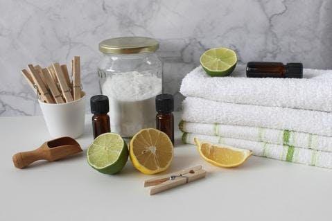Produits ménagers DIY au bicarbonate