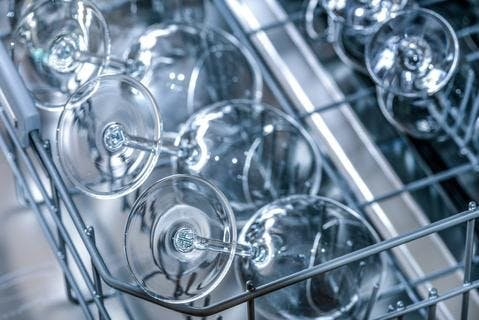 verres propres