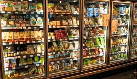 frigo en magasins