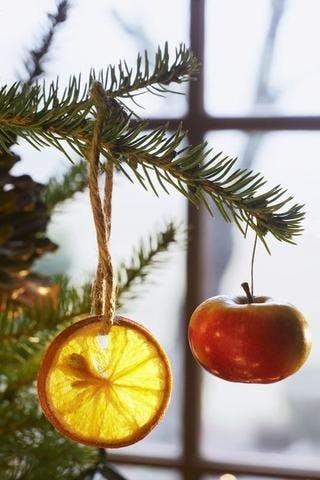 Boule de neige DIY avec des fruits